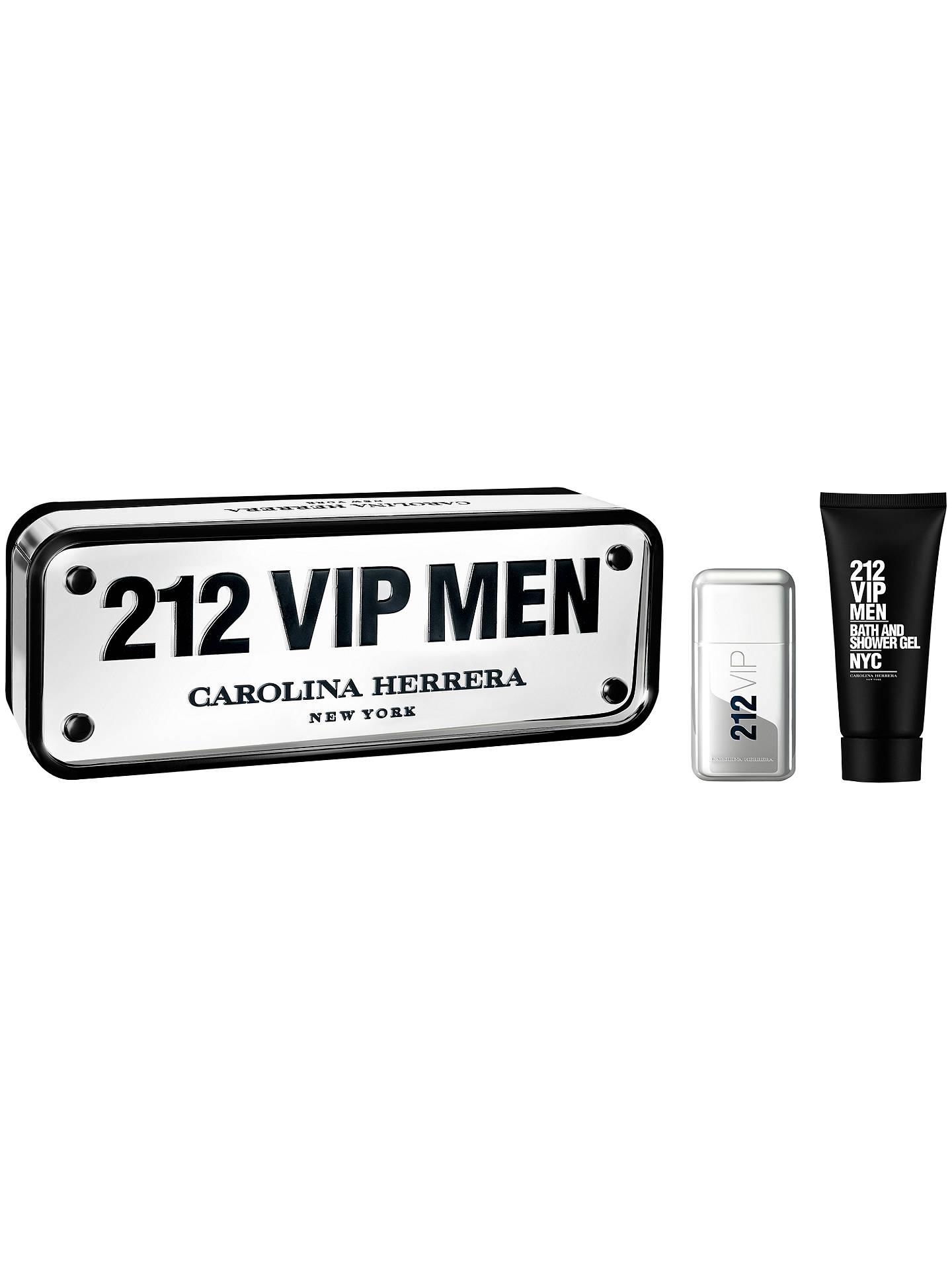 fe44b74c2 Buy Carolina Herrera 212 Vip Men 50ml Eau de Toilette Gift Set Online at  johnlewis.