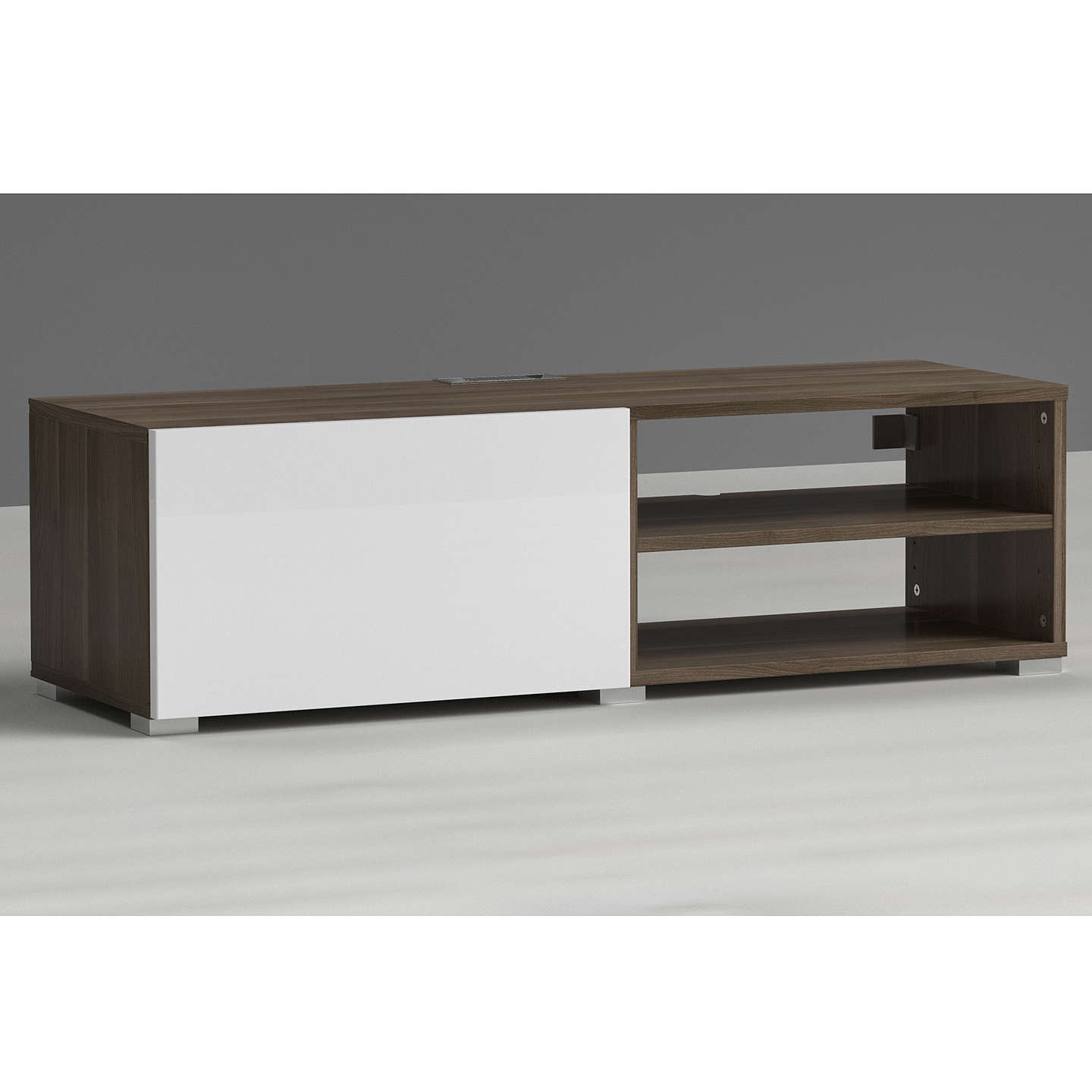 BuyHouse by John Lewis Mix it Media Unit - Ash frame / White door Online at johnlewis.com