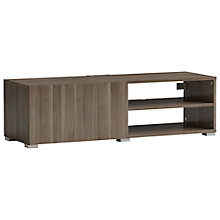 Buy House by John Lewis Mix it Media Unit - Ash frame / Grey Ash door Online at johnlewis.com