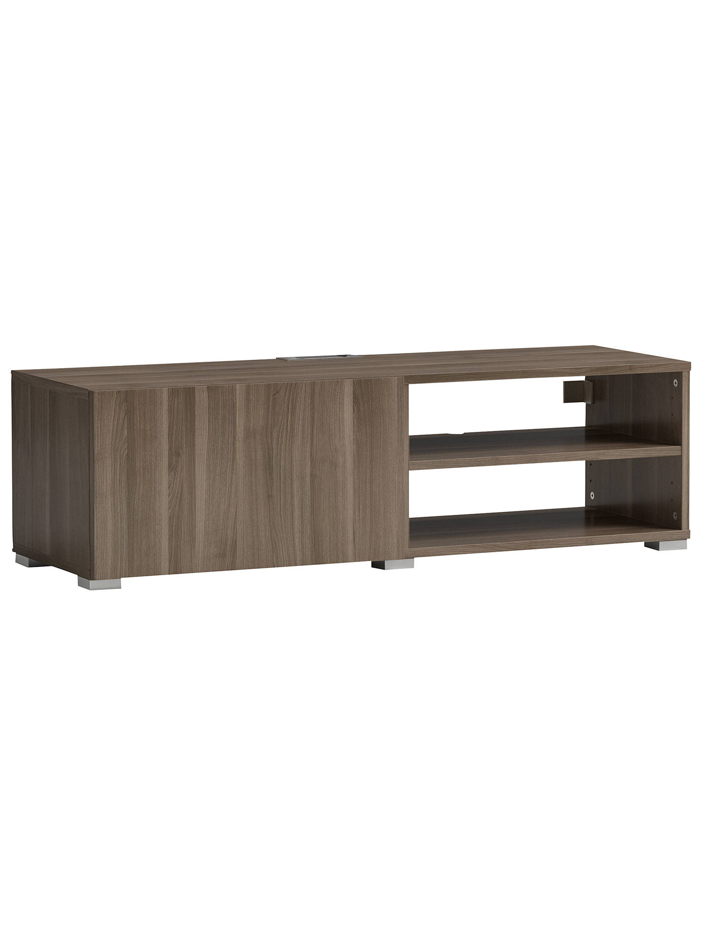BuyHouse by John Lewis Mix it Media Unit - Ash frame / Grey Ash door Online at johnlewis.com