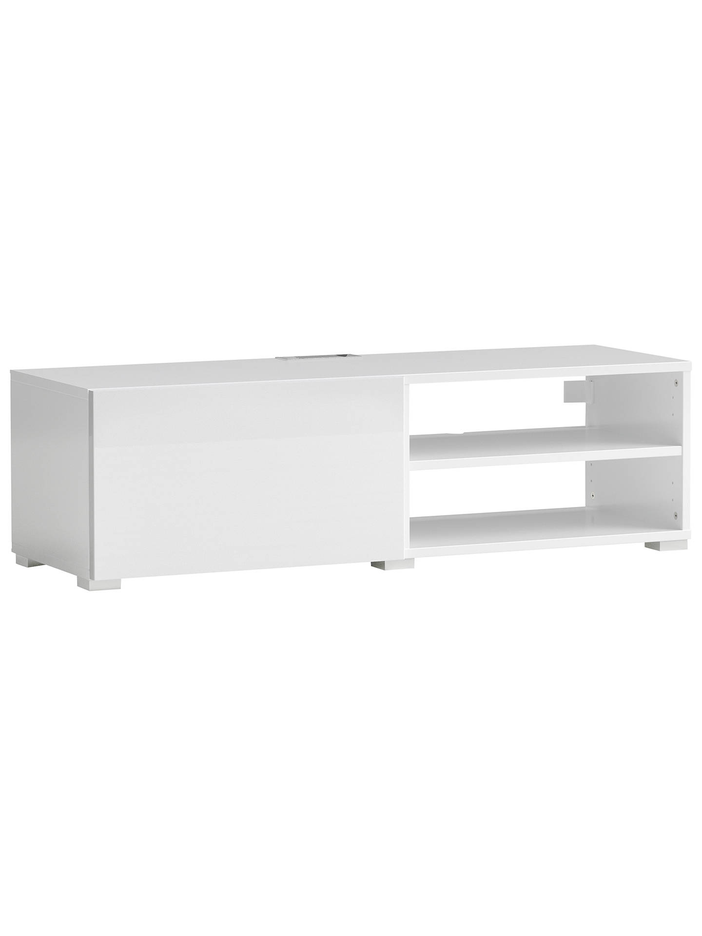 House By John Lewis Mix It Media Unit White Online At Johnlewis