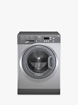 Hotpoint Aquarius WMAQF641G Washing Machine, Graphite