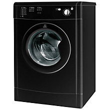 Buy Indesit IDV75BK Vented Tumble Dryer, 7kg, B Energy Rating, Black Online at johnlewis.com