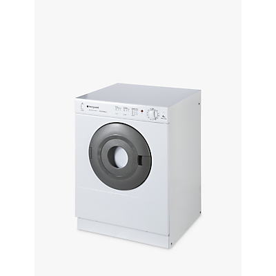 Hotpoint V4D01P Vented Compact Tumble Dryer, 4kg Load, C Energy Rating, Polar White