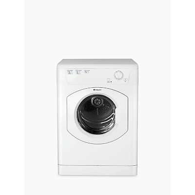 Hotpoint FETV60CP Vented Tumble Dryer, 6kg Load, C Energy Rating, White