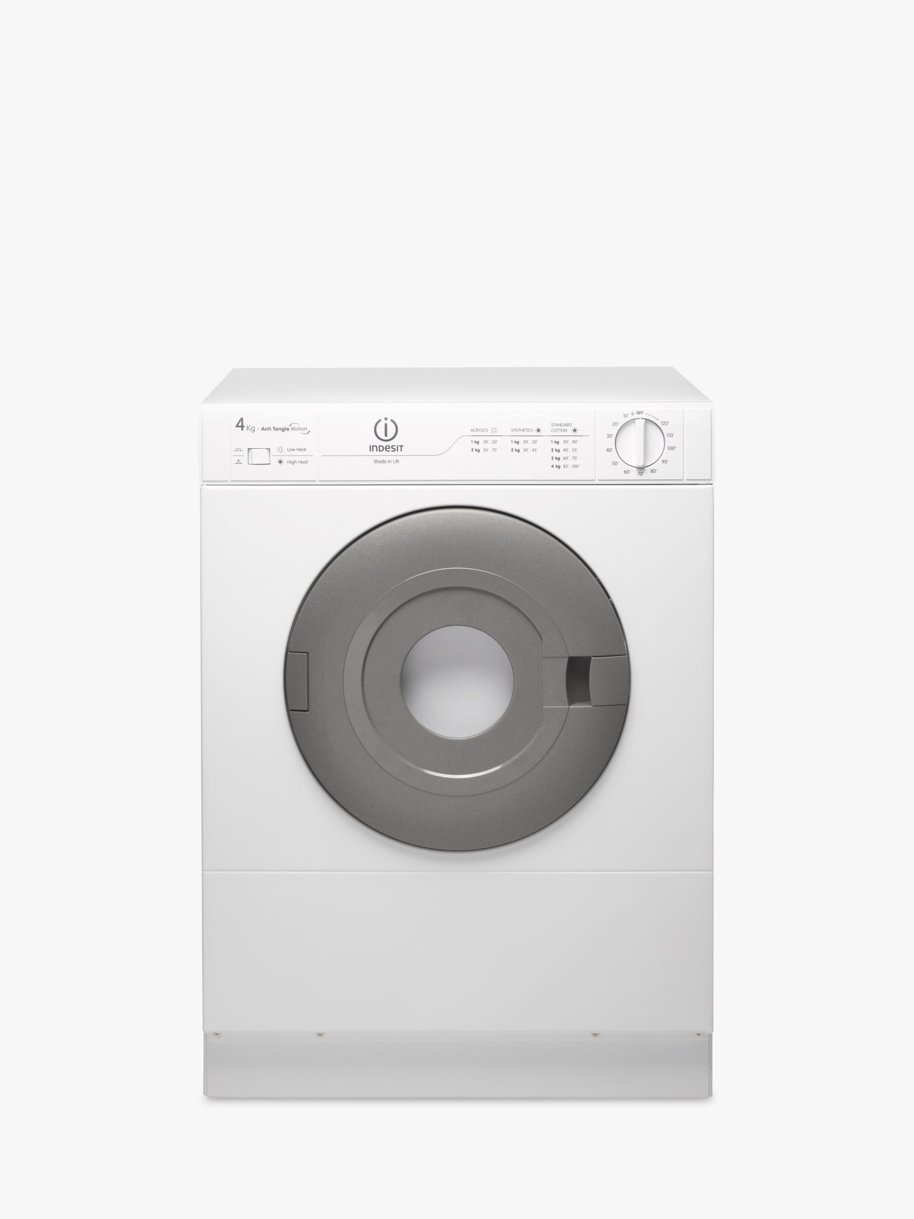 Tumble Dryers Espanol ~ Indesit is v vented compact tumble dryer kg bluewater