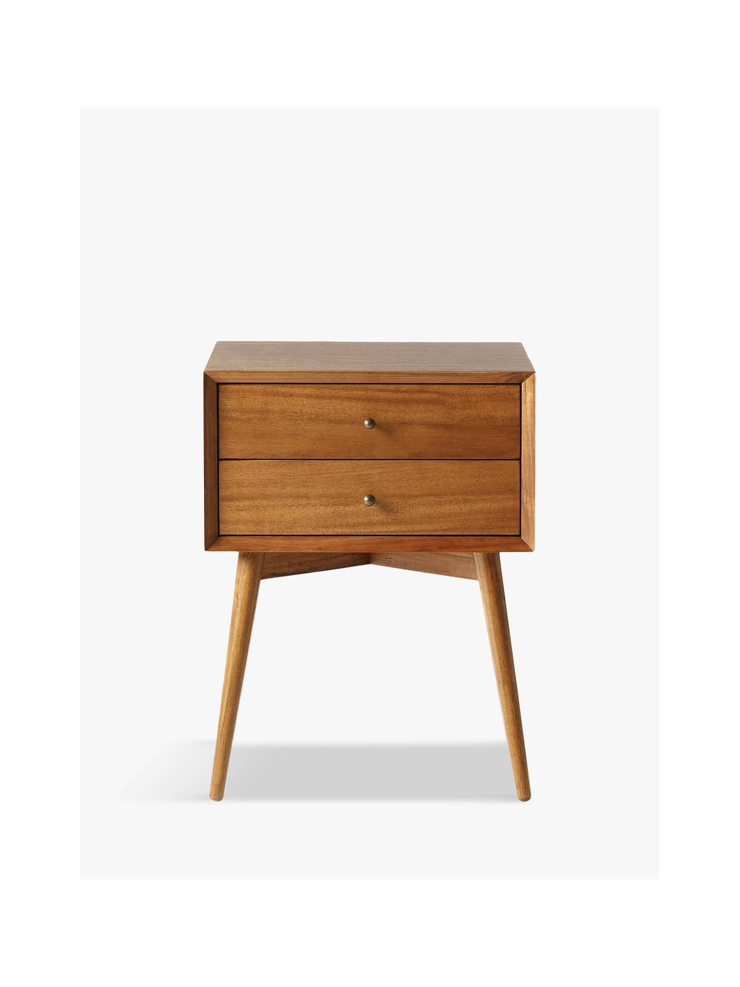 9548397fce4ec west elm Mid-Century Bedside Table at John Lewis   Partners