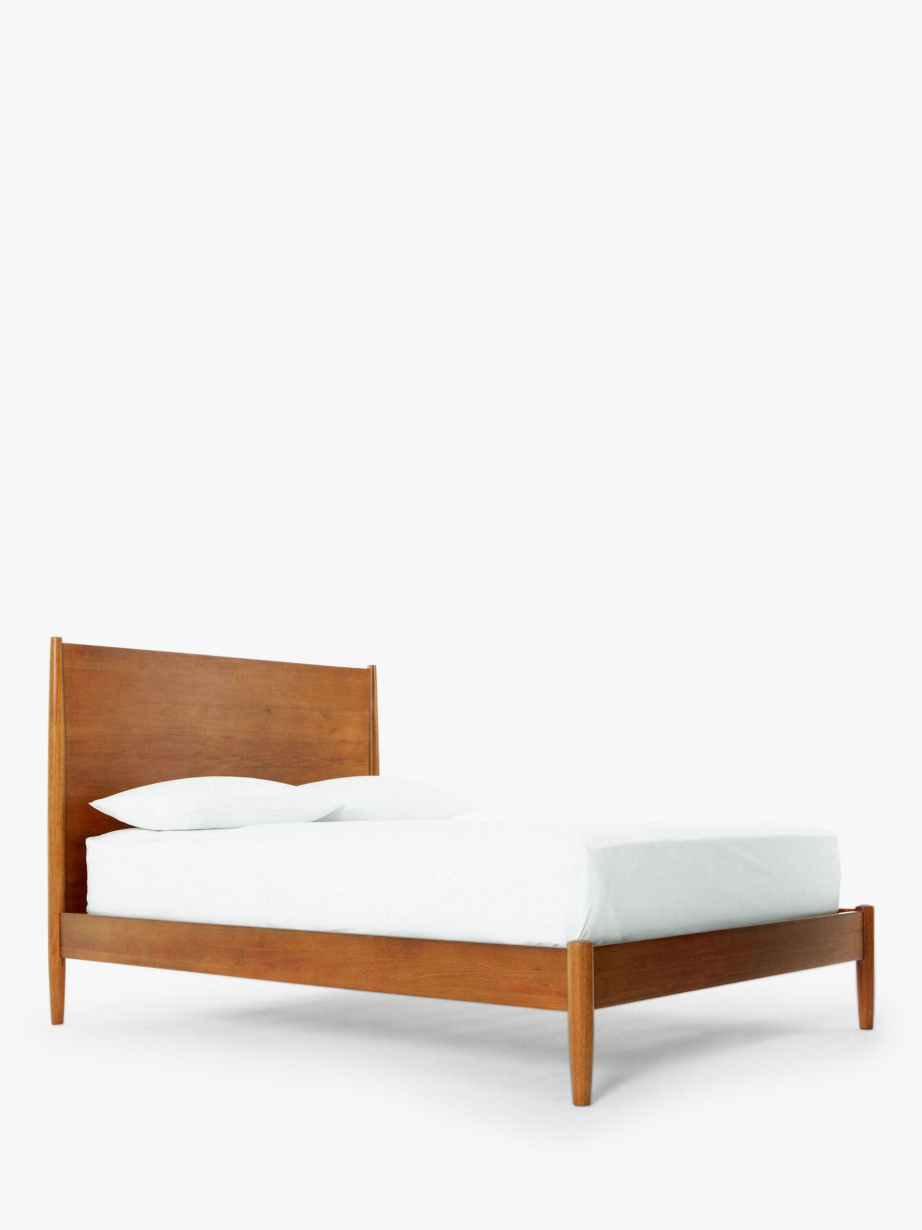 Buy west elm MidCentury Bed Frame Double John Lewis