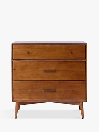 west elm Mid-Century 3 Drawer Chest