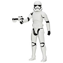 Buy Star Wars Episode VII: The Force Awakens Stormtrooper Figure Online at johnlewis.com