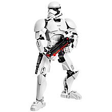 Buy LEGO Star Wars First Order Stormtrooper Buildable Figure Online at johnlewis.com