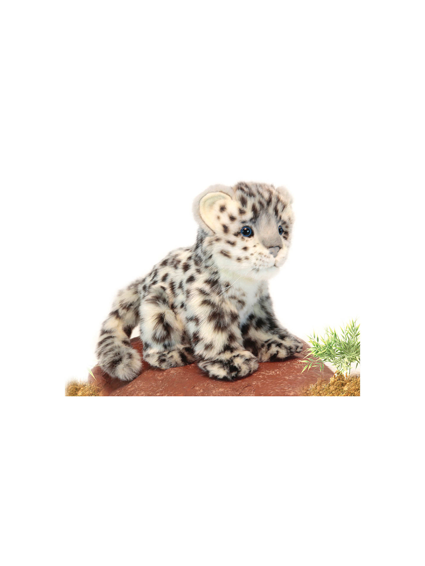 Hansa Snow Leopard Cub Soft Toy 18cm At John Lewis Partners