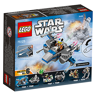 Image of LEGO Star Wars 75125 Resistance X-wing Fighter Microfighter