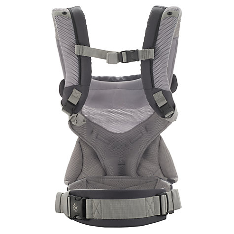 Buy Ergobaby 360 Performance Baby Carrier, Carbon Grey Online at johnlewis.com