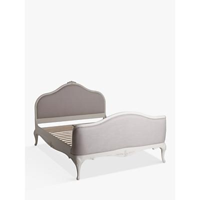 John Lewis & Partners Rose Mist Upholstered Bed Frame, King Size