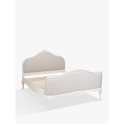 John Lewis Rose Mist Upholstered Bed Frame, Double