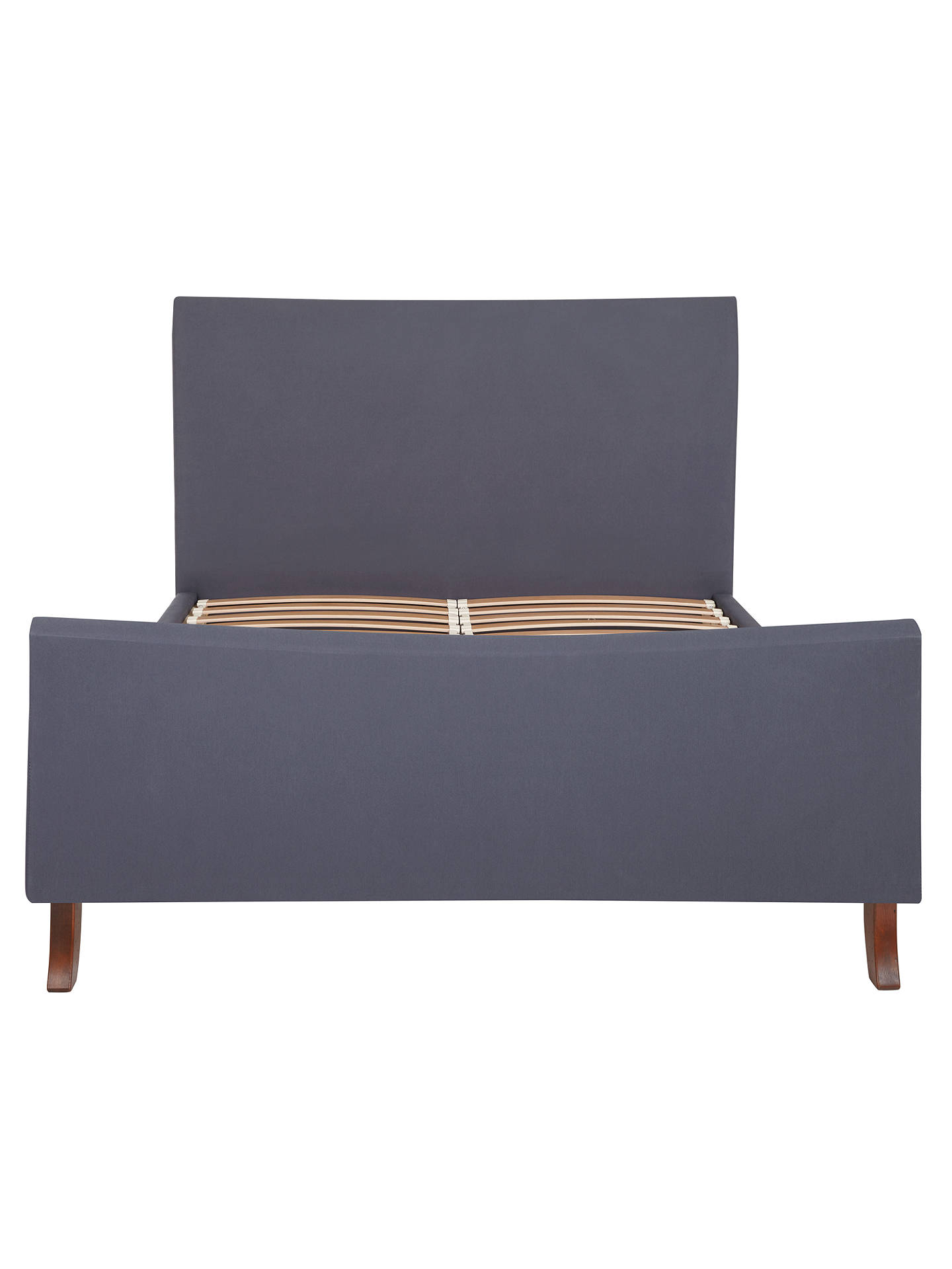 BuyJohn Lewis & Partners Lincoln High End Bed Frame, Double, Anthracite Online at johnlewis.com