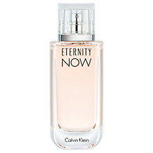 Buy Calvin Klein Eternity Now For Women Eau de Parfum Online at johnlewis.com