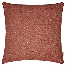Buy Bronte by Moon Parquet Weave Cushion, Red Online at johnlewis.com