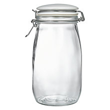 Buy John Lewis Lidded Jar, Ceramic/Glass, 1.5L Online at johnlewis.com