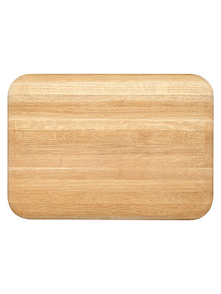 Buy Croft Collection Chunky Oak Wood Chopping Board, Natural Online at johnlewis.com