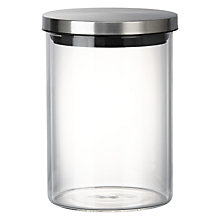 Buy House by John Lewis Glass Jar, 700ml Online at johnlewis.com