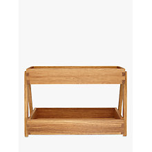 Buy John Lewis Croft Collection Spice Rack, Oak Online at johnlewis.com