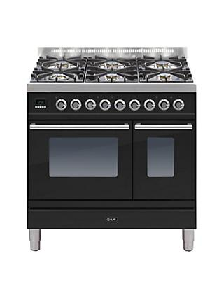 ILVE PDW906 Roma Freestanding Dual Fuel Range Cooker
