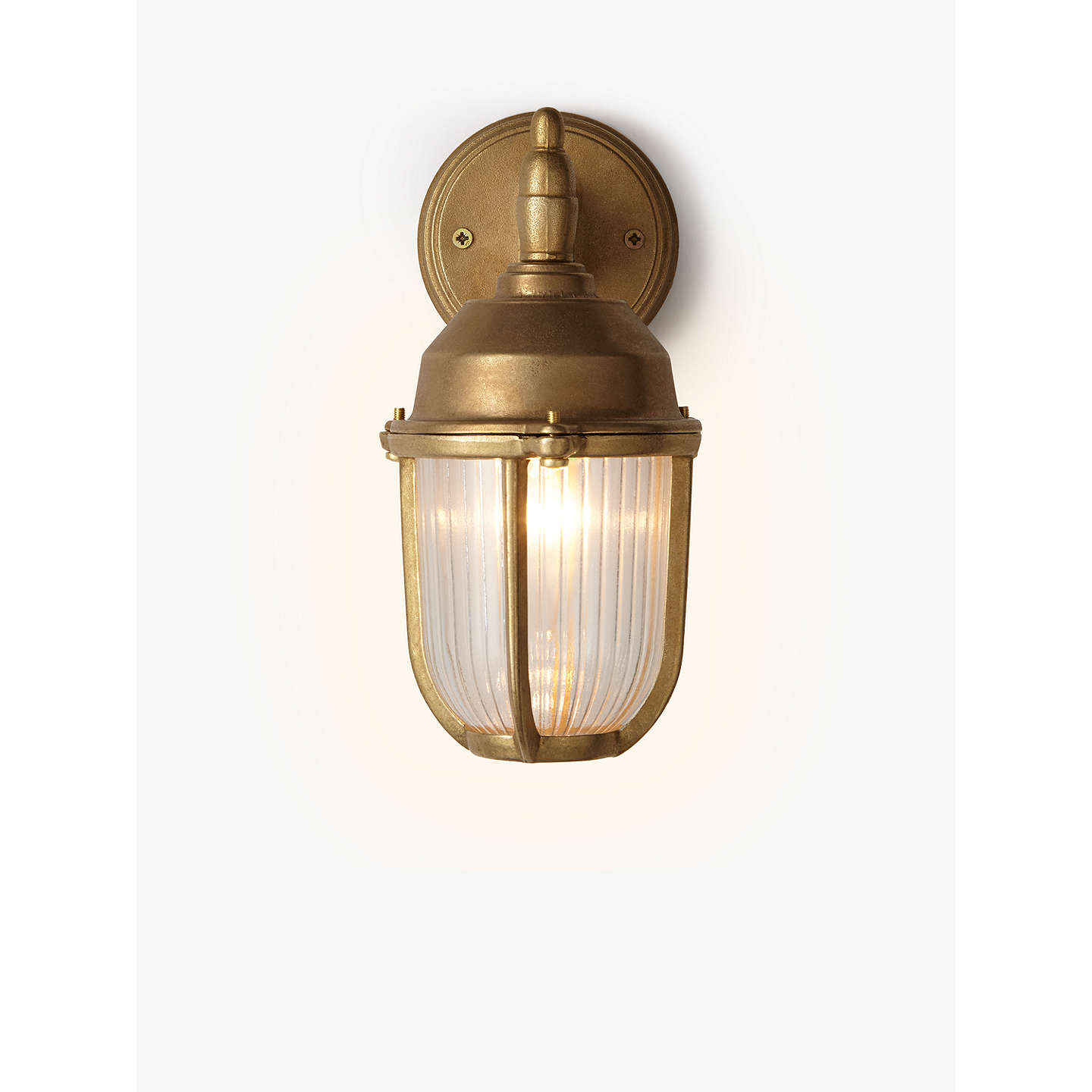 Nordlux outdoor downlight wall light brass at john lewis buynordlux outdoor downlight wall light brass online at johnlewis aloadofball Choice Image
