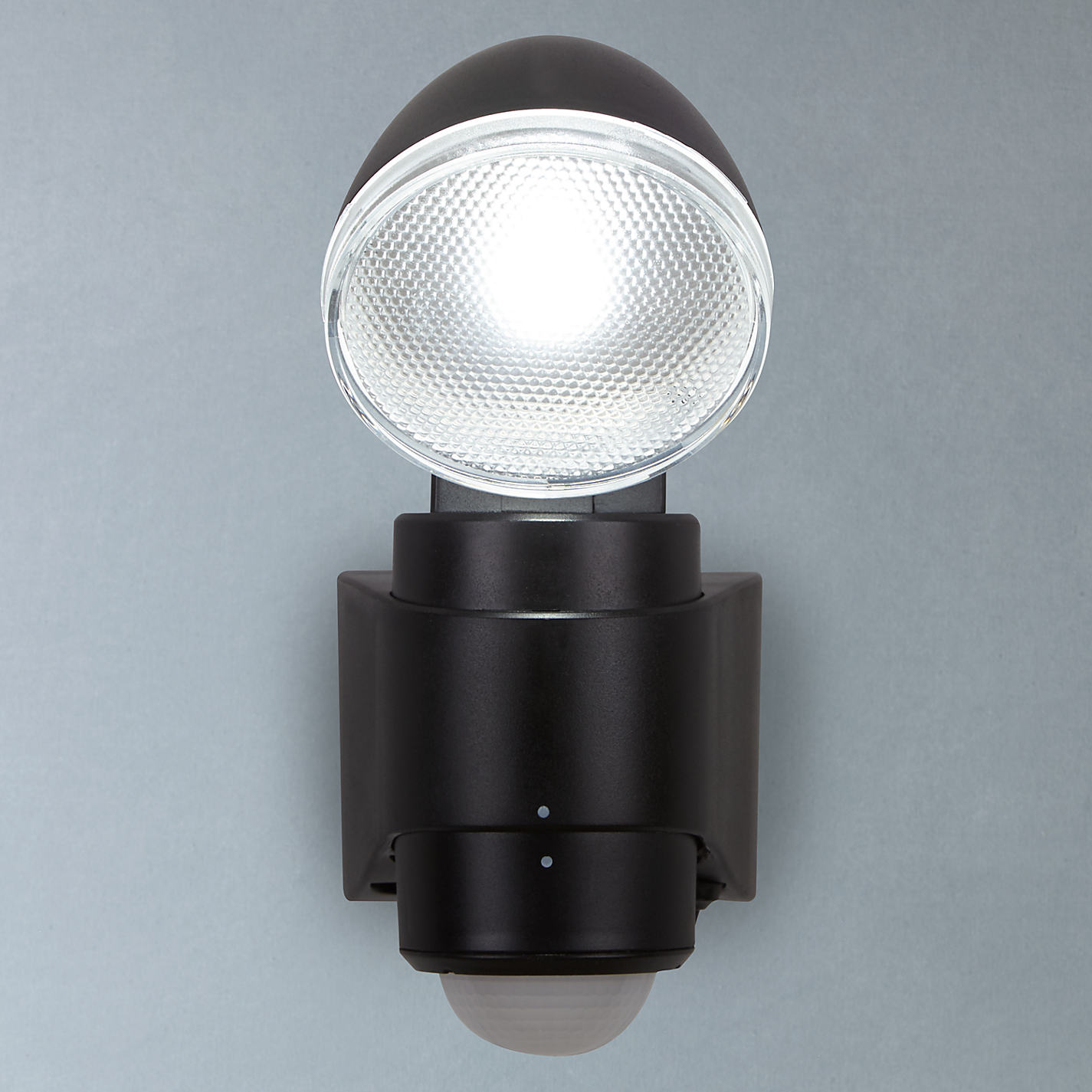 Buy saxby laryn led battery operated outdoor spotlight with pir buy saxby laryn led battery operated outdoor spotlight with pir black online at johnlewis mozeypictures Choice Image