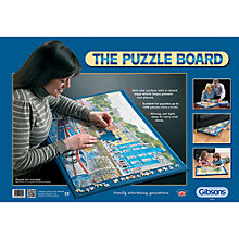 Buy Gibsons Jigsaw Puzzle Board Online at johnlewis.com