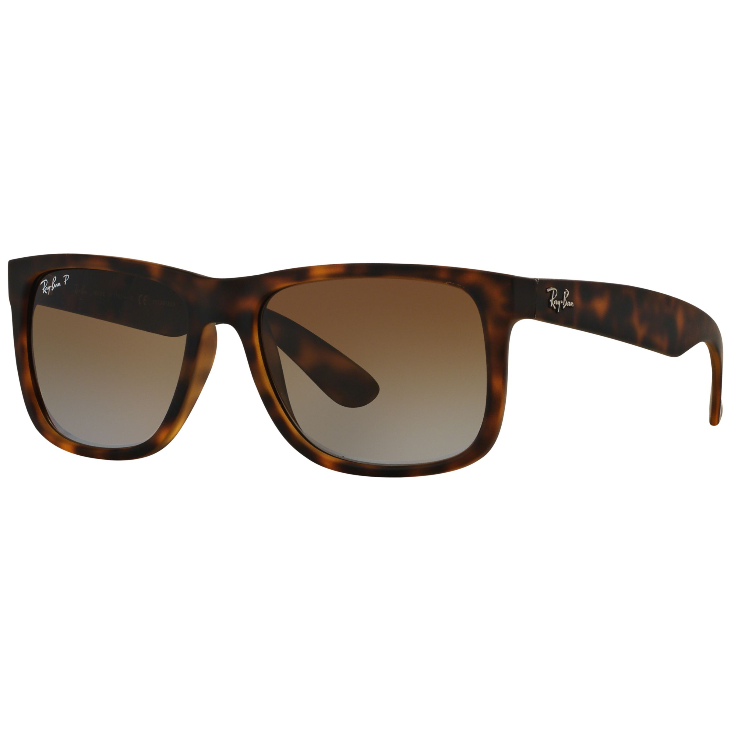 Ray-Ban RB4165 Justin Polarised Wayfarer Sunglasses