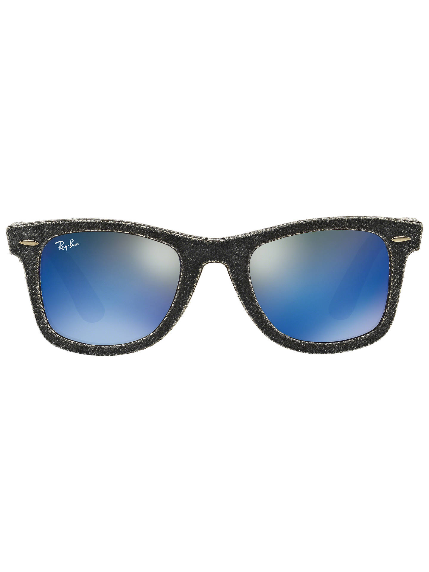 859646b9b793b ... shopping buyray ban rb2140 original wayfarer denim sunglasses grey  online at johnlewis 7b389 f9d02