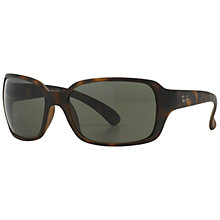 Buy Ray-Ban RB4068 Polarised Rectangular Sunglasses Online at johnlewis.com