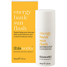 Buy This Works Energy Bank Sun Flash, 30ml Online at johnlewis.com