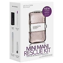 Buy Leighton Denny Mini Mani Rescue Kit Online at johnlewis.com