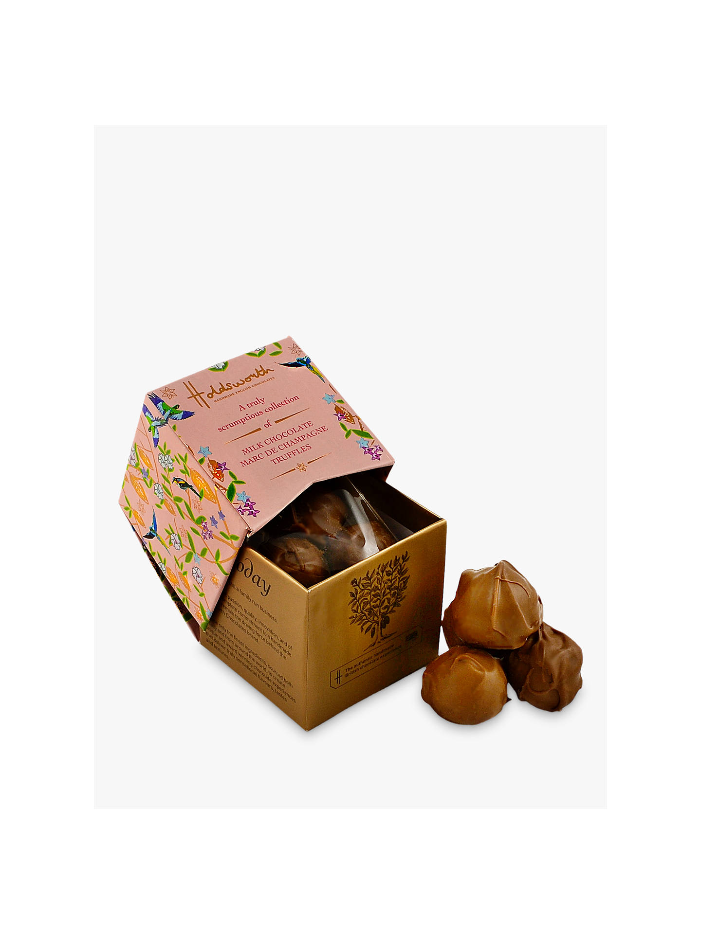 BuyHoldsworth Pink Mini Cube Champagne Chocolate Online at johnlewis.com