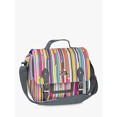 Beau & Elliot Stripe Lunch Satchel and Cooler Bag