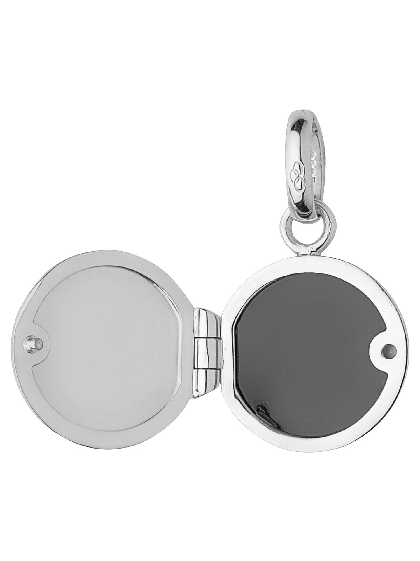 BuyLinks of London Sterling Silver Mini Locket Charm, Silver Online at johnlewis.com