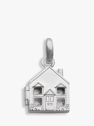Links of London Sterling Silver Home Is Where The Heart Is Locket Charm, Silver/Gold