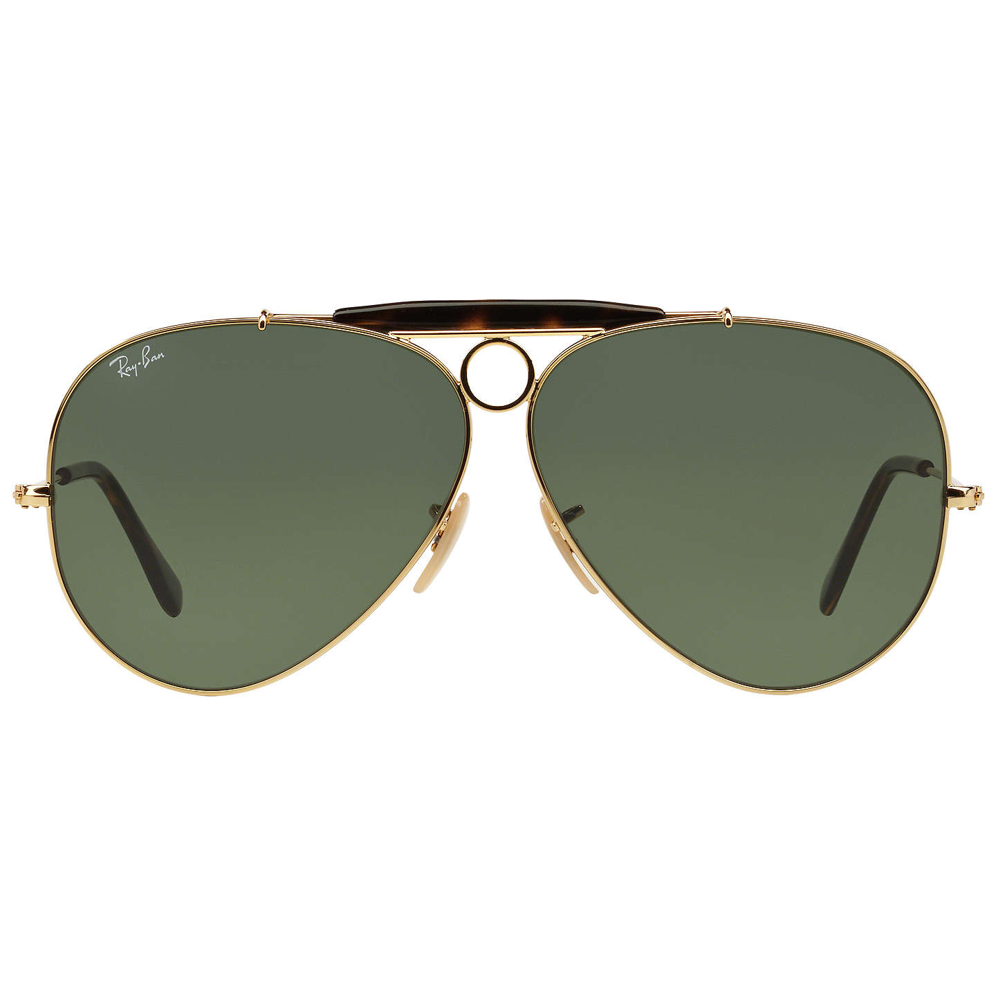e4b6840fce4 ... italy buyray ban rb3138 la havana shooter aviator sunglasses green  online at johnlewis 3c380 dce40