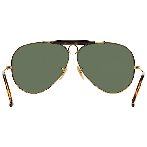 Ray Ban Havana Sunglasses  buy ray ban rb3138 la havana shooter aviator sunglasses online at johnlewis