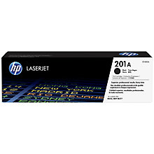 Buy HP 201A Toner Cartridge, Black Online at johnlewis.com