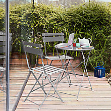 Buy John Lewis Brighton Bistro Outdoor Set Online at johnlewis.com