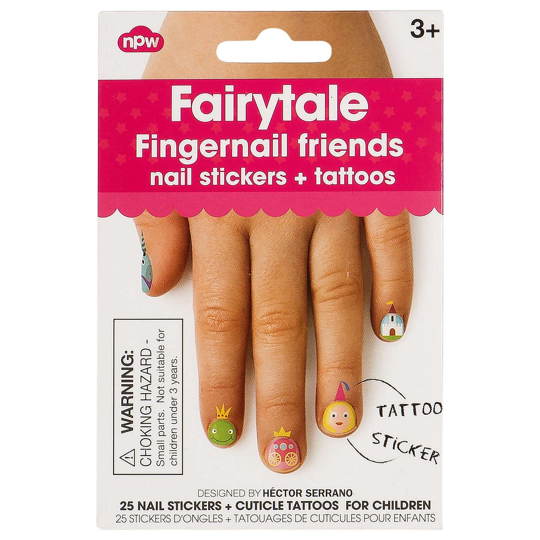 NPW Fairytale Fingernail Friends Nail Stickers at John Lewis