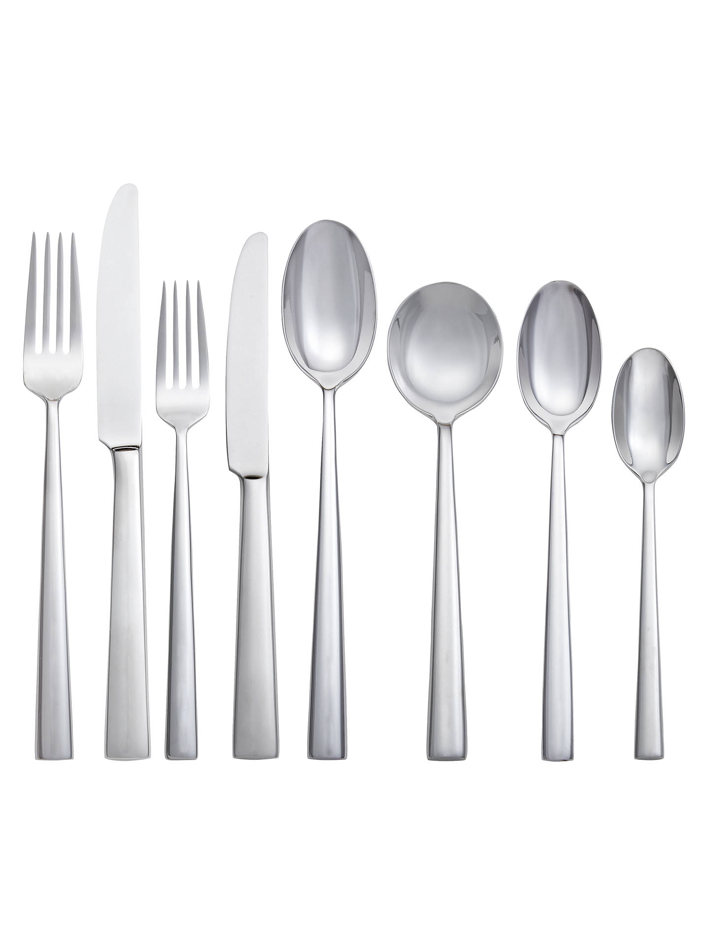 Buy John Lewis & Partners Ellipse Dessert Spoon Online at johnlewis.com