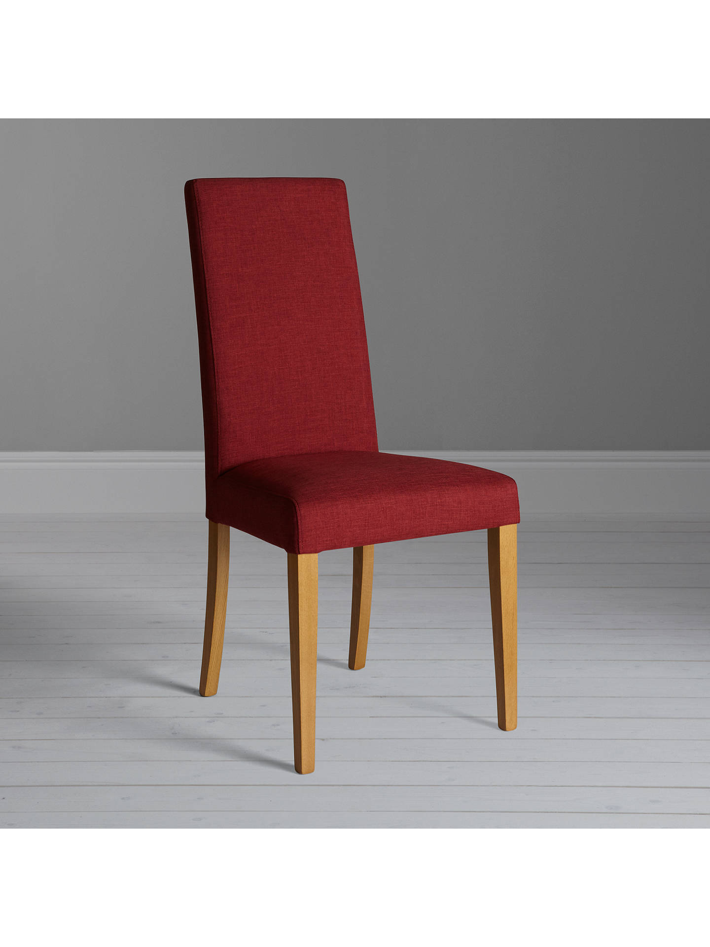 BuyJohn Lewis & Partners Lydia Dining Chair, Red Online at johnlewis.com