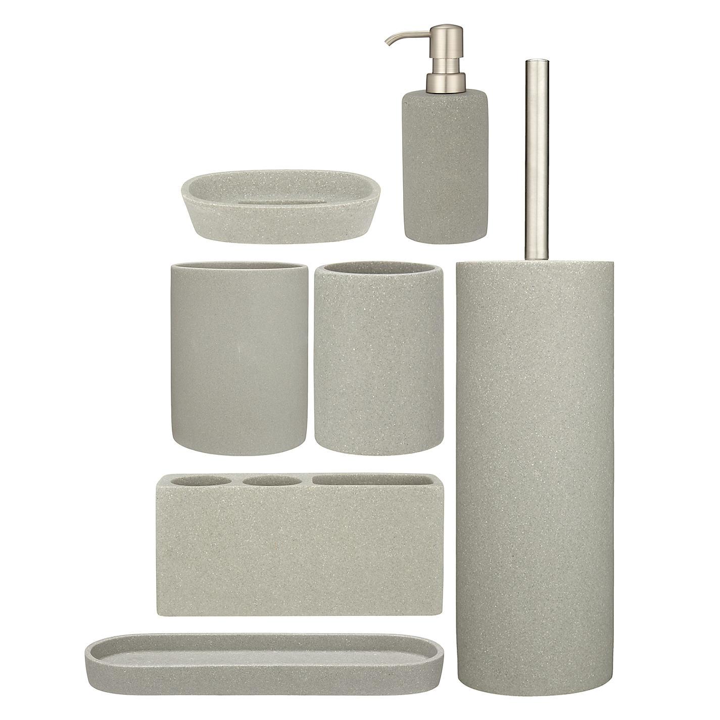 Buy John Lewis Dune Bathroom Accessories John Lewis