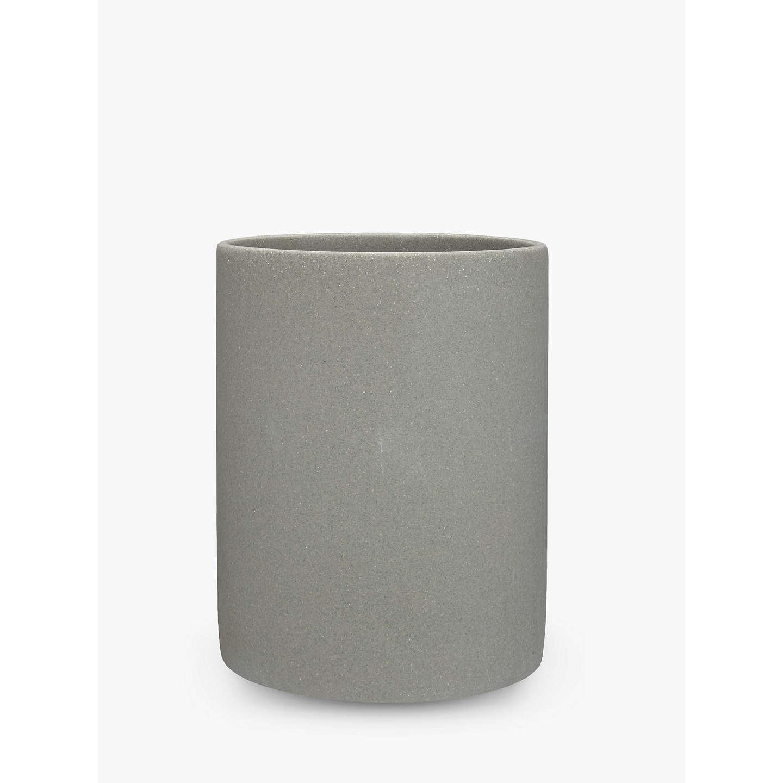 john lewis dune bathroom bin grey at john lewis. Black Bedroom Furniture Sets. Home Design Ideas