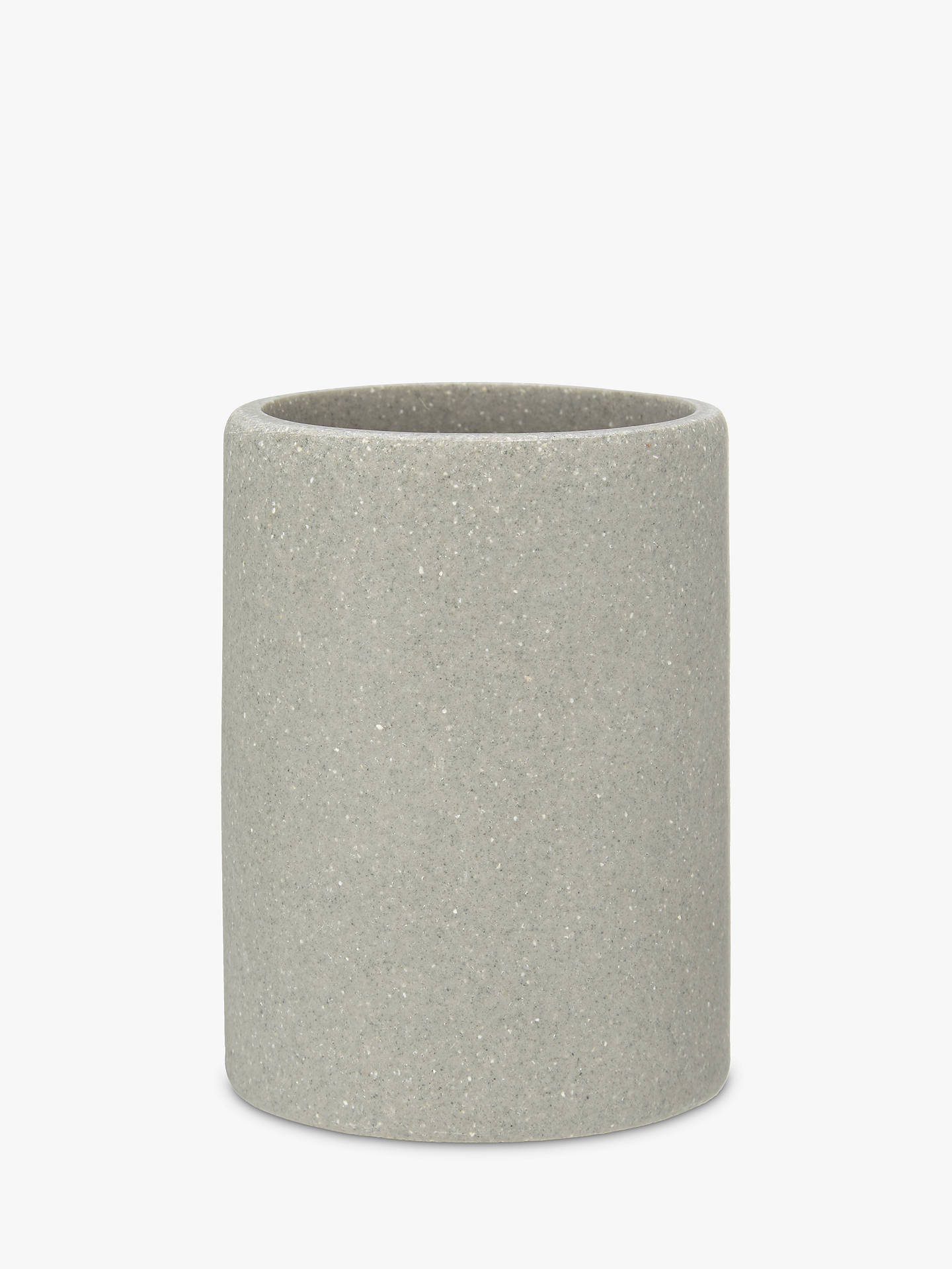Buy John Lewis & Partners Dune Bathroom Tumbler, Grey Online at johnlewis.com
